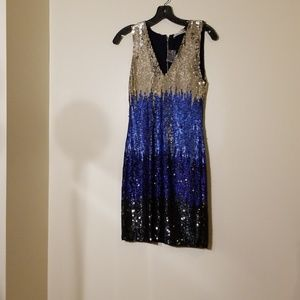 Alice and olivia sequence dress